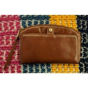 Vintage Hide Wallet   HOBO
